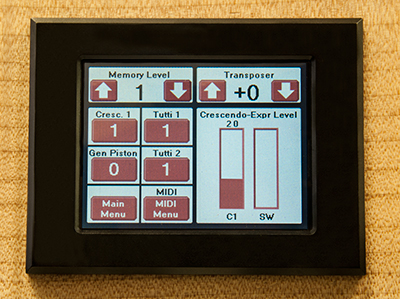 MS8405 Touch Screen