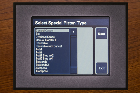 Step 2: Select the Special Piston Type